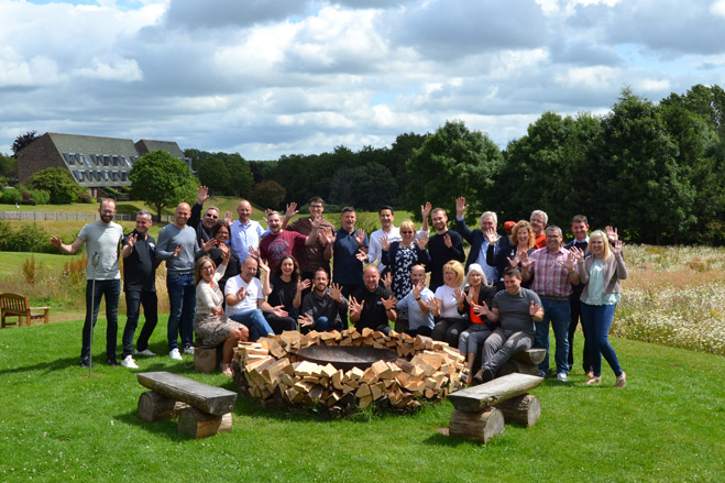 SHP team strategy day at The Lakes