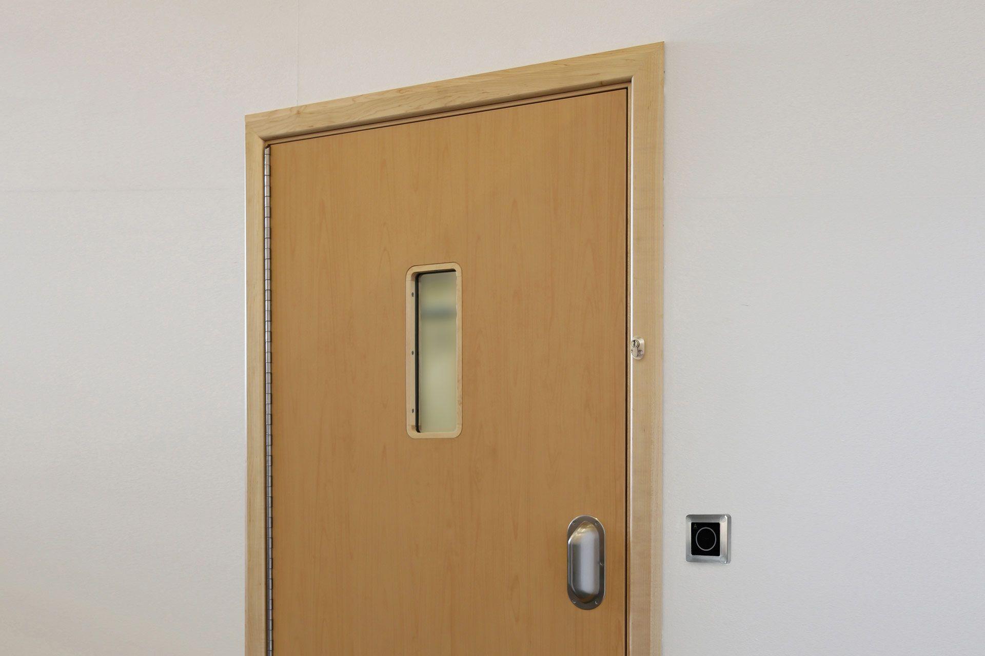 Seclusion room doorset