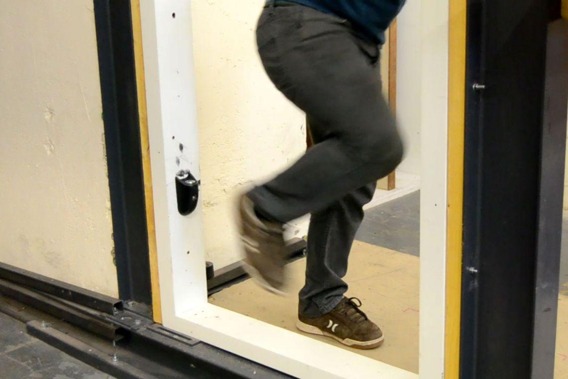 Rigorously testing the en-suite door