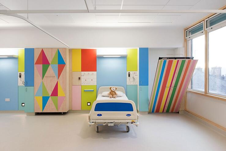 Five reasons why our integral finger guard is perfect for paediatric care environments
