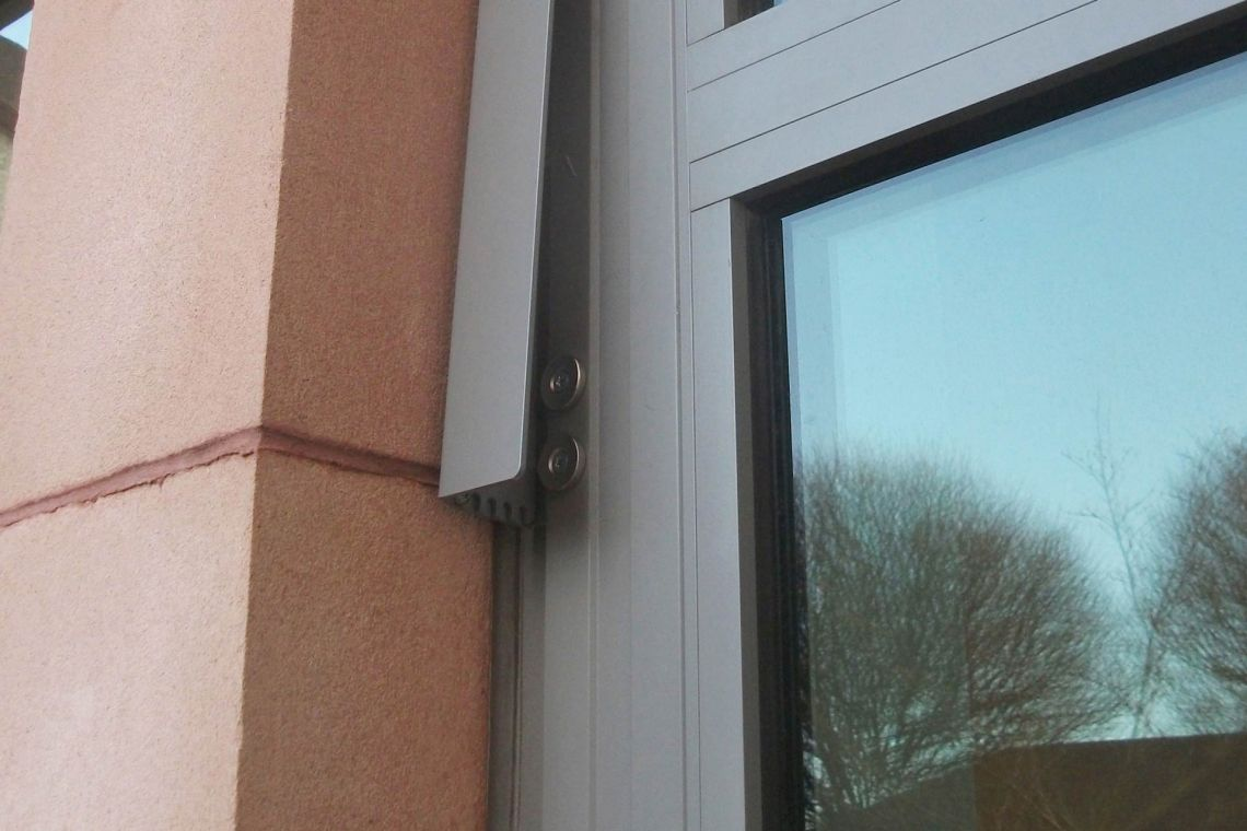2-part window restrictors